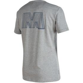 Mammut Crashiano - Camiseta manga corta Hombre - gris